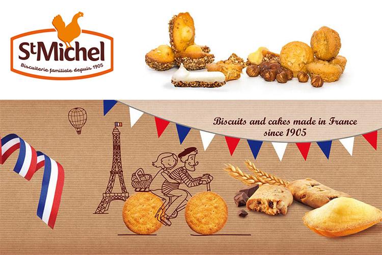 Bánh qui bơ St Michel Grande Galette Caramel 150g