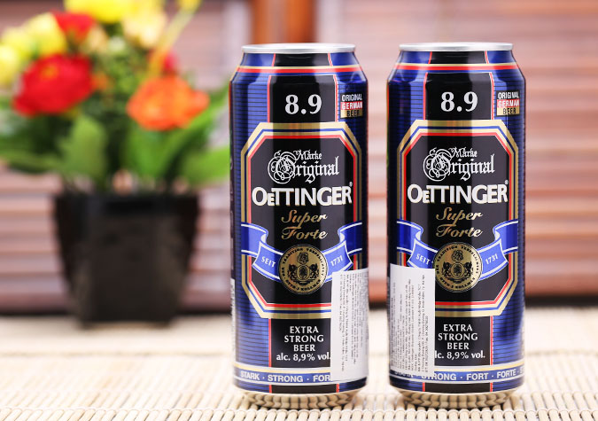 Bia Oettinger Super Forte 8,9% - 500ml (Đức)