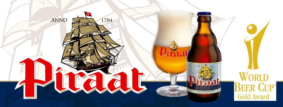 Bia Piraat 10,5% (Bỉ) - chai 330ml