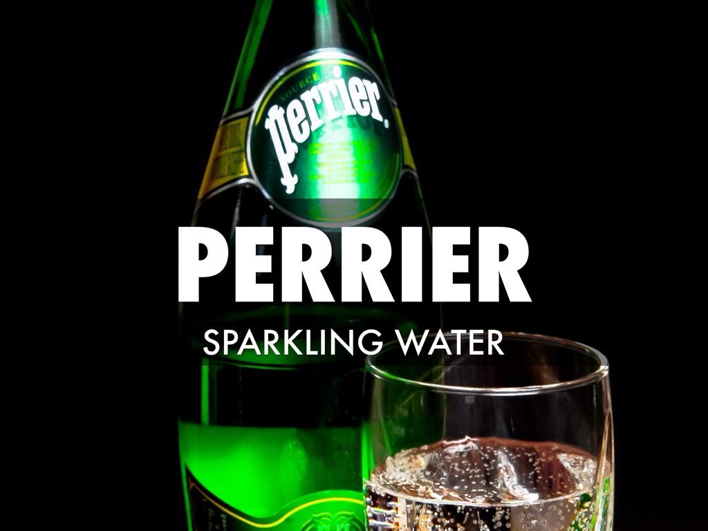 Nước khoáng có gas Perrier tự nhiên - chai 330ml