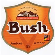 Bia Bush Amber 12% - 24x330ml (Bỉ)
