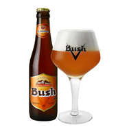 Bia Bush Amber 12% - 330ml (Bỉ)
