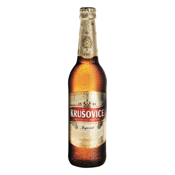 Bia Tiệp Krusovice Imperial 5% chai 330ml
