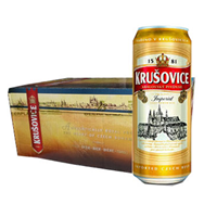 Bia Tiệp Krusovice Imperial 5% lon 500ml x 24