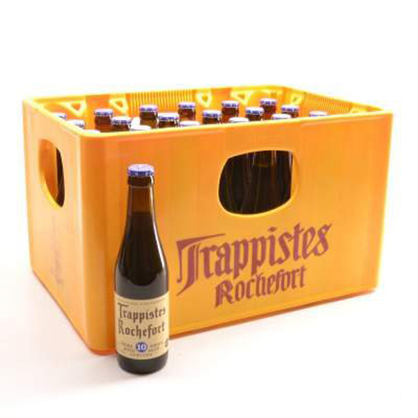 Bia Trappistes Rochefort 10 - 24x330ml -11,3% (Bỉ)