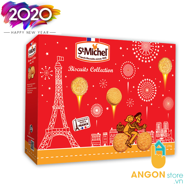 Hộp bánh St Michel Biscuits Collection 270g