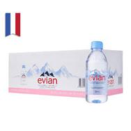 Nước khoáng Evian (Pháp) chai nhựa 330ml x 24 chai