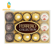 Sô cô la Ferrero Rocher Collection 172g
