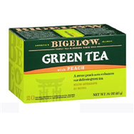 Trà Bigelow Green Tea with Peach 20bag-25g
